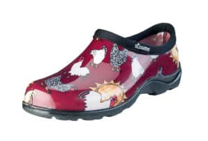 Slogger Shoes in Barn Red Chicken