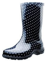 Slogger Boots in Polka Dot