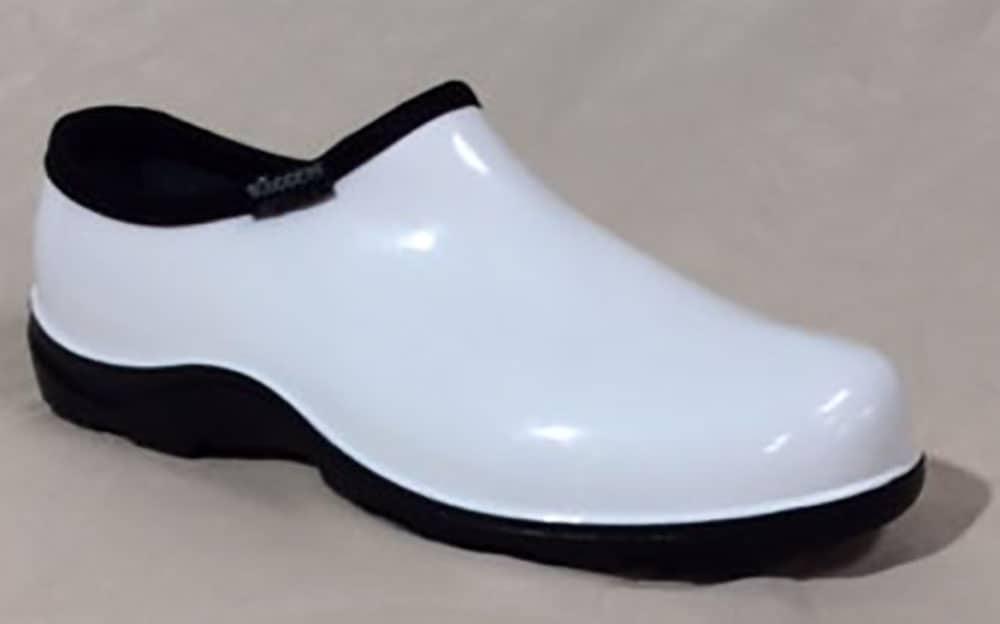 Solid White Nursing Shoes